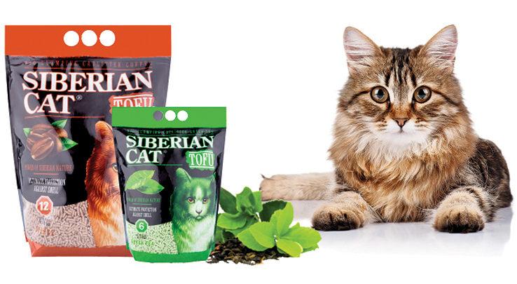 сибирская кошка наполнитель тофу зеленый чай