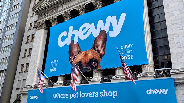Онлайн-продавец товаров для животных Chewy обновляет команду
