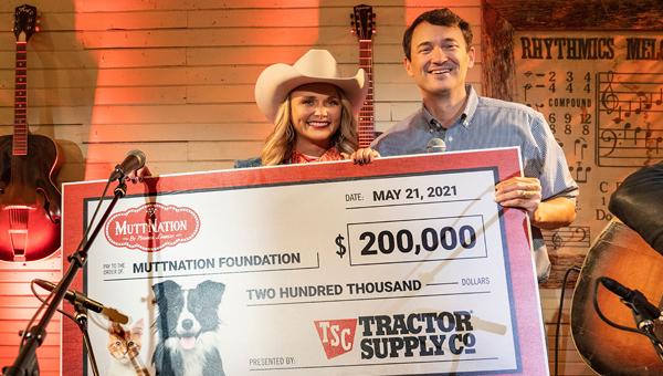 Tractor Supply пожертвовал $200 тысяч в фонд MuttNation