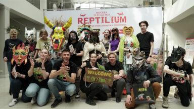 В Москве состоялась выставка «Рептилиум» для террариумистов