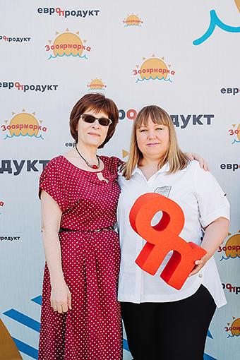 Татьяна Катасонова и Татьяна Эглит