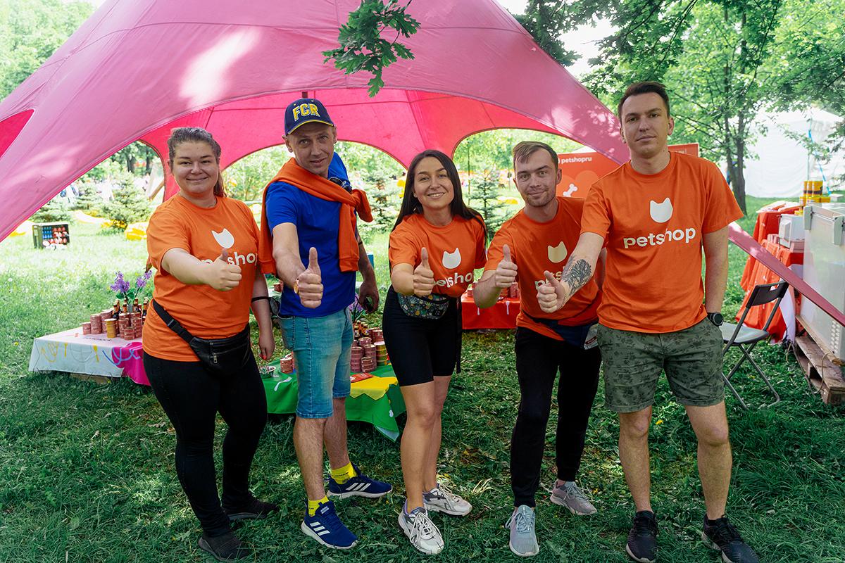 Сотрудники Petshop.ru на фестивале Petshop days 2021