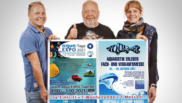 Аквариумная выставка Aqua Expo Tage – 2021 отменена