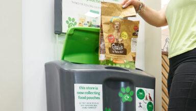 В зоомагазинах Pets at Home появились пункты приёма упаковок от кормов