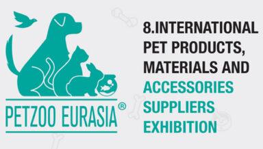В Стамбуле пройдёт выставка зоотоваров PETZOO Eurasia