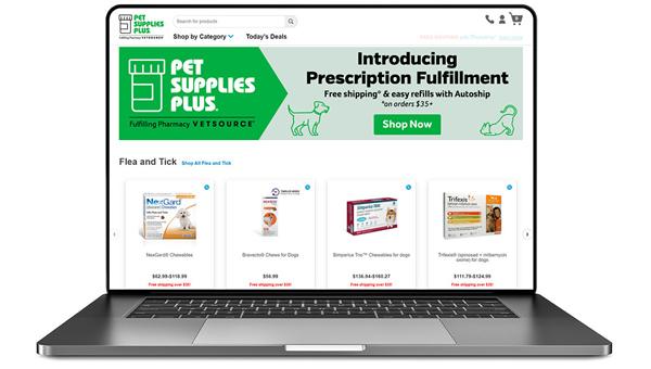 Сеть зоомагазинов Pet Supplies Plus добавляет в ассортимент ветеринарную продукцию