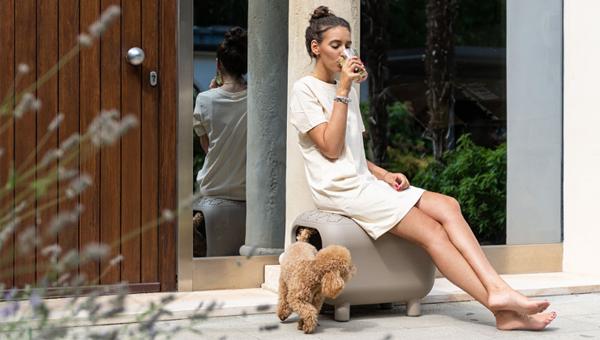 United Pets представила табуреты-домики для собак и кошек