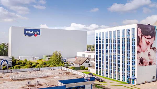 Vitakraft открывает в Германии новый многоуровневый склад