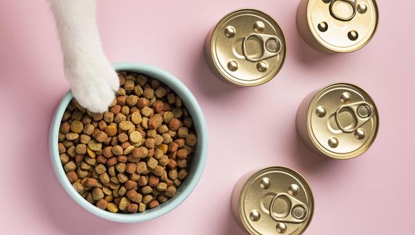 За 7 месяцев 2021 года в России произведено 731,1 тыс.тонн корма для собак и кошек