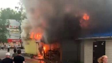 В Семибратово Ярославской области сгорела ветеринарная клиника