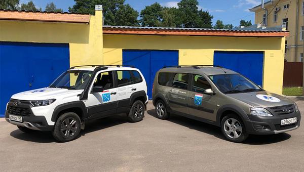 В Ленинградской области ветслужба получила девять новых автомашин