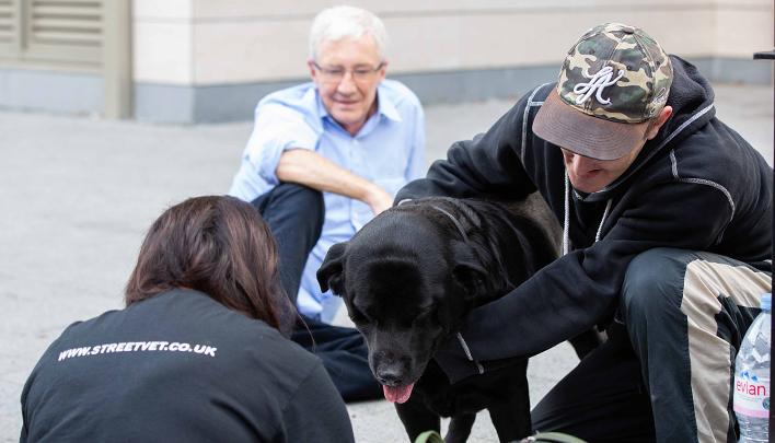 StreetVet получили грант от фонда Battersea на помощь для бездомных владельцев