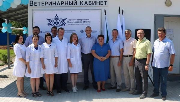 В Шахунье Нижегородской области открылся новый веткабинет