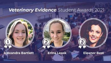 Veterinary Evidence Awards победители